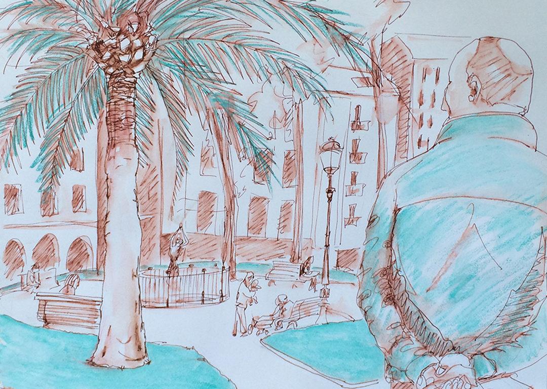 Dibujatolrato jardines de albia dibujatolrato sinparar for Jardines de albia