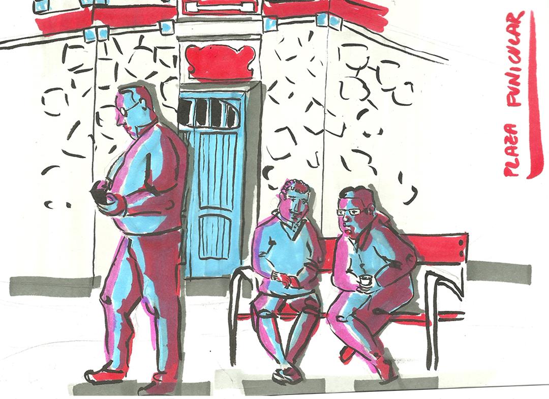 dibujatolrato Plaza Funicular