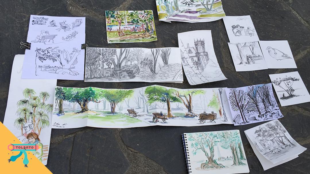 dibujatolrato Parque Doña Casilda